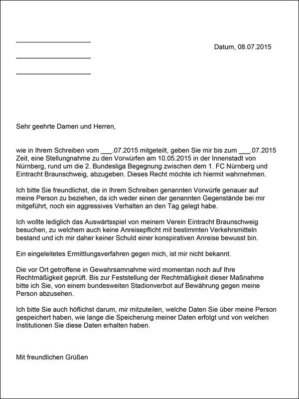 Anhörungsrecht Für Fussball Fans Nur Theoretisch Blau Gelbe